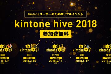 kintone hive 2018/kintone AWARD 2018